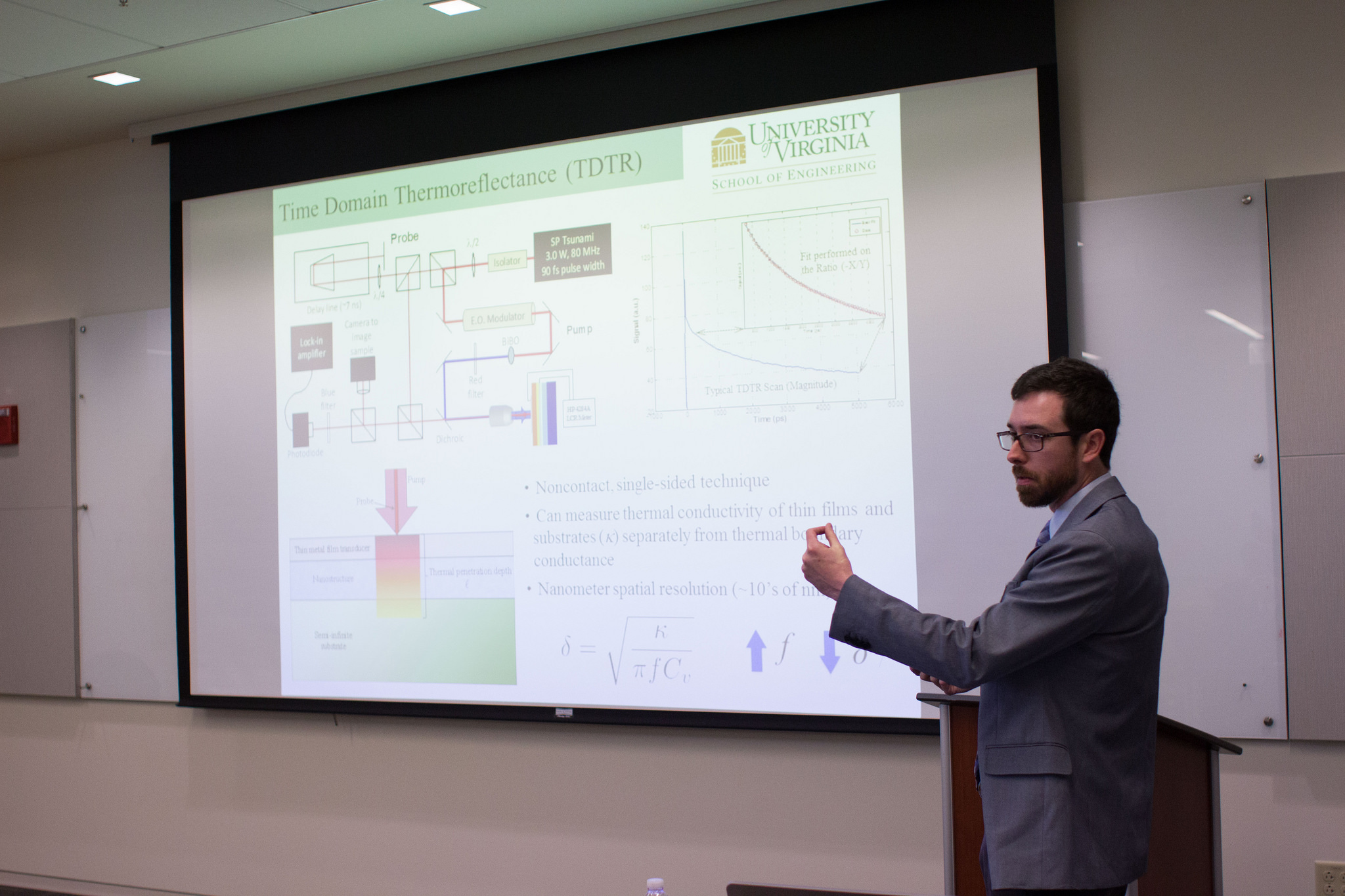 Presentation on thermal switching in bilayer PZT devices at the Virginia Space Grant Consortium (VSGC) research conference held at Langley Air Force Base on April 17th, 2015.